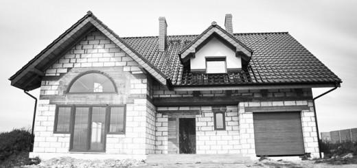 Einfamilienhaus im Rohbau