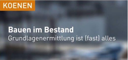 KOENEN Bauen im Bestand (1/2016)