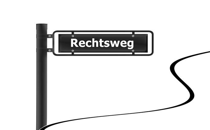 strassenschild-rechtsweg